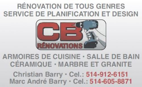 CB Rénovations à Laval